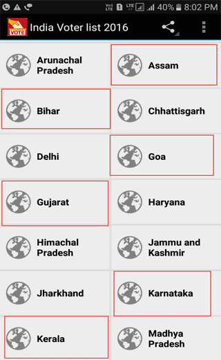 voter-list-android-app