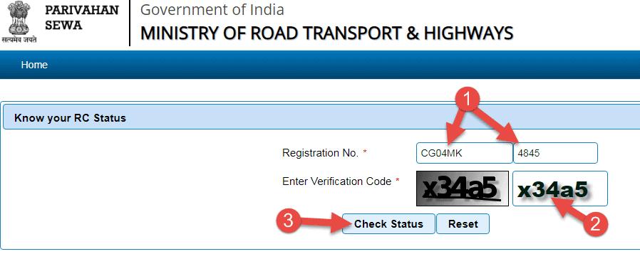 enter-vehicle-number