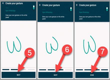 finger-gesture-app
