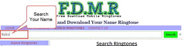 name-ringtone-download