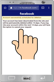 Facebook-Account-Delete