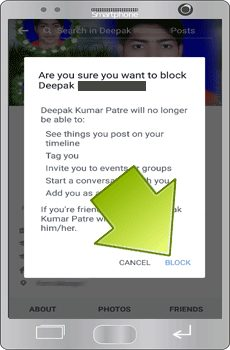 Facebook-id-block-unblock