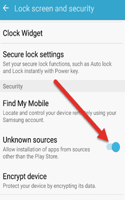 enable-unknown-sorces-security-setting