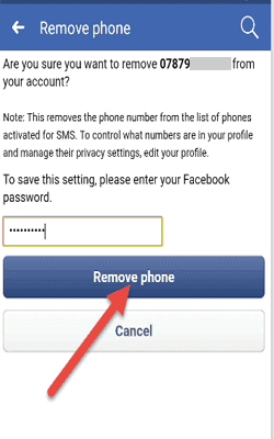 acebook-account-mobile-number-remove