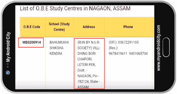 nios deled study center in assam