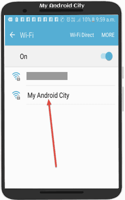 mobile to mobile wifi kaise connect kare