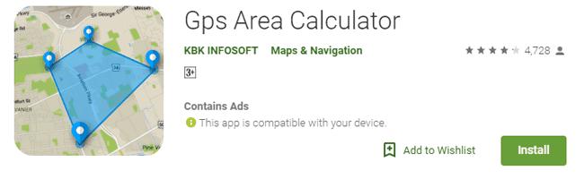Gps-Area-Calculator