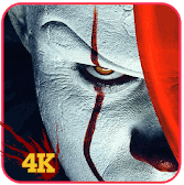 Bhoot Scary Clown Wallpaper 4K